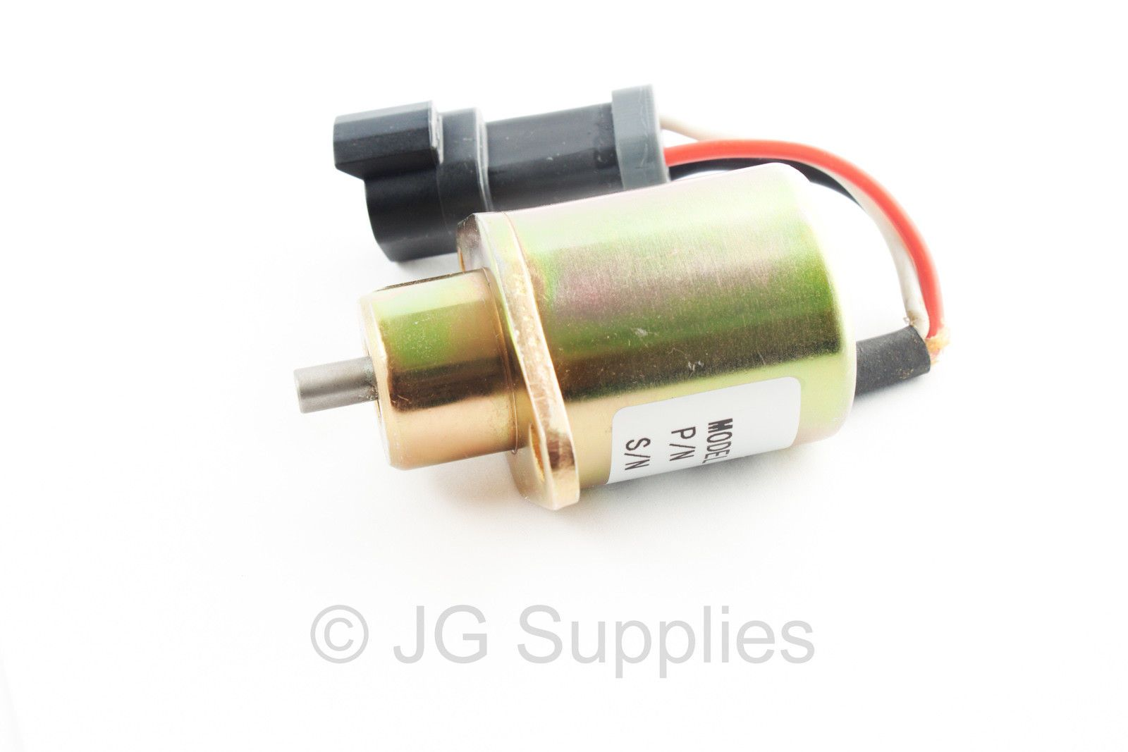 Shut off solenoid 2848A278 Perkins Marine UB704 Caterpillar 246 Skid Ste  2848A27 - 372295210820
